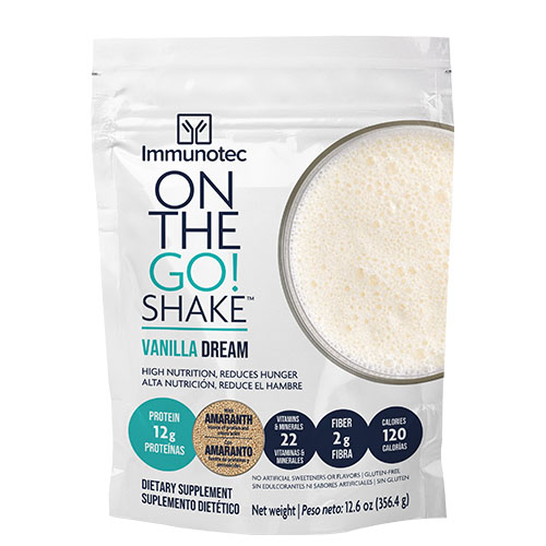 Product ON THE GO SHAKE - VANILLA DREAM