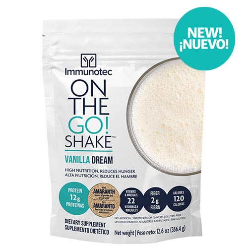 ON THE GO SHAKE - VANILLA DREAM