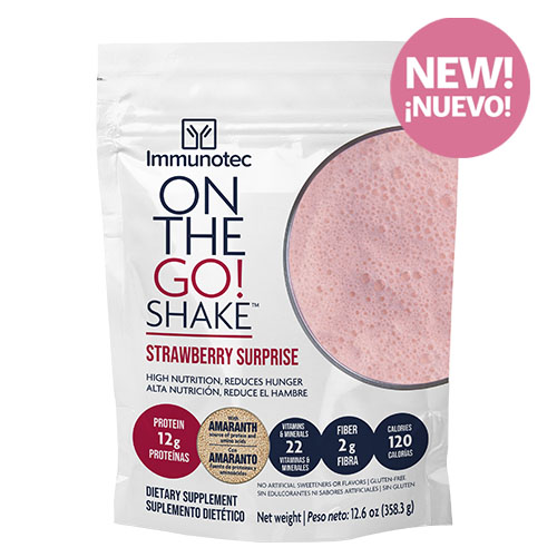 Product NEW! ON THE GO SHAKE - STRAWBERRY SURPRISE