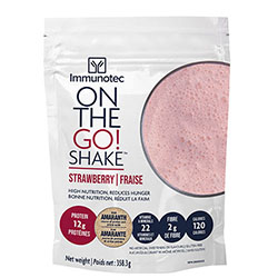 Product ON THE GO SHAKE - STRAWBERRY